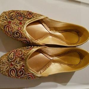 Shoes - Gold shoes